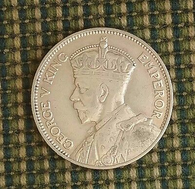 New Zealand 1934 Silver Shilling