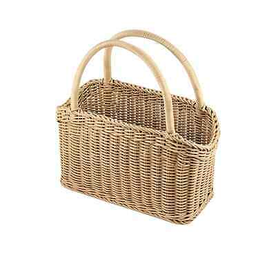 NEW IconChef Hand Woven Carry Basket 46cm