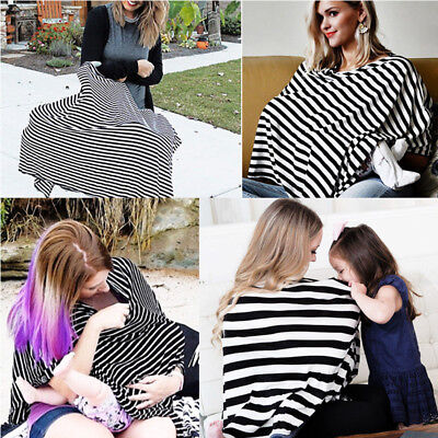 Breastfeeding Cover Nursing Privacy Top Canopy Baby Feeding Scarf Blanket Cover