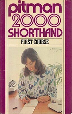 Pitman 2000: Shorthand First Course by Pitman Book The Cheap Fast Free Post