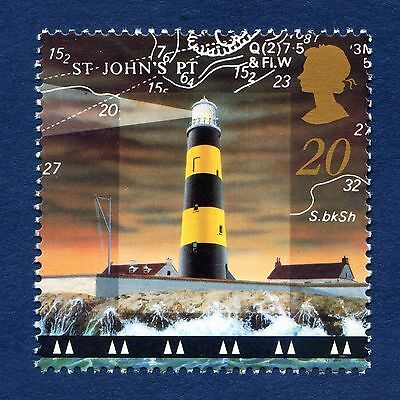 St John's Point Lighthouse, Co Down illustrated on 1998 Stamp - U/M