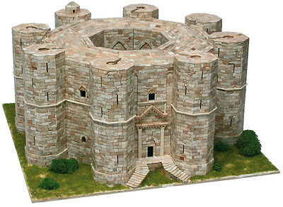 Aedes 1008. Model Castle of the Monte Andria. Brick construction