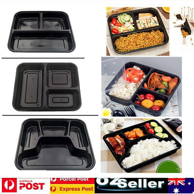 10/20 Meal Prep Containers Plastic Food Storage Reusable Microwavable Lunch Box