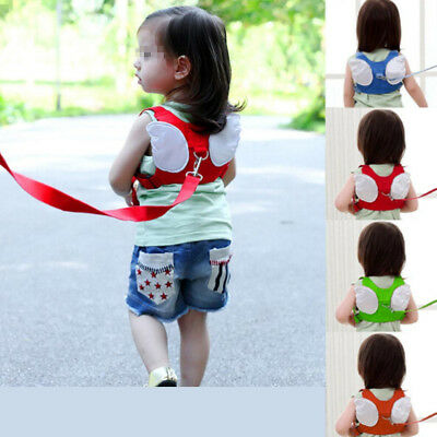 New Anti-lost Kids Baby Safety Harness Walking Learning Belt Backpack Style Belt