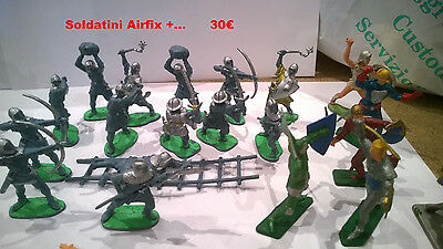 Medieval Foot Soldiers Airfix 1,32