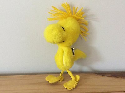 VINTAGE Woodstock soft toy from Peanuts/Snoopy - United Feature syndicate - 18cm