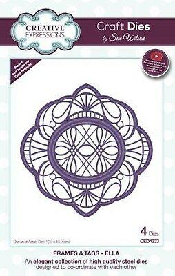 Frames & Tags Collection Ella Die Creative Expressions CED4333