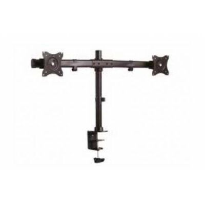 Hagor M Table Mount KB Dual 27 Clamp Negro - Soporte para televisor (20 kg, 33