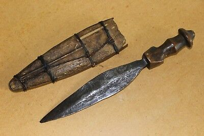 CONGO old african knife ancien couteau LUBA africa d'afrique kongo sword