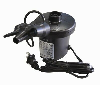 North Gear Fast Flow Electric Air Pump For Airrbeds/Inflatables