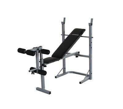 Confidence Fitness Home Multi Gym Dumbbell Weight Bench With Leg Extension Unit