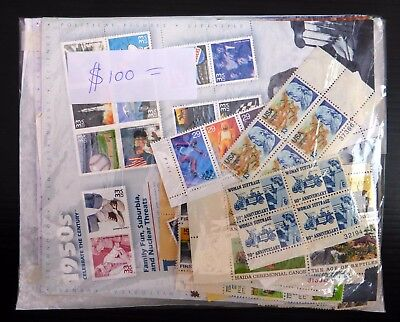USA For Postage Mint with Gum Including Sheetlets Face Value $654 NB3737