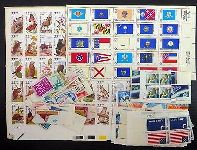 USA For Postage Mainly STUCK TOGETHER in Blocks High Face Value Cheap Lot NB3741