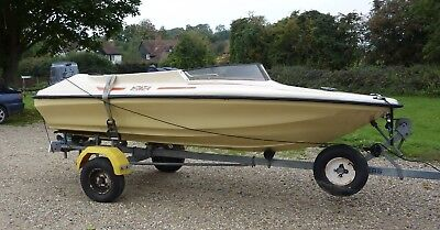 Speed Boat Shakespeare Clubman !!!  BOAT ONLY   not Fletcher