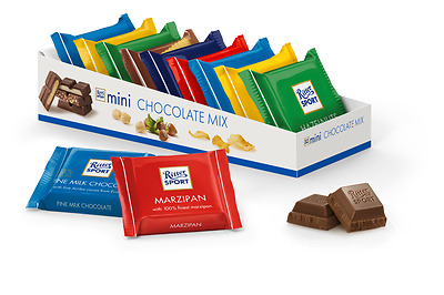 Ritter Sport Minis Mix (Pack of 9)