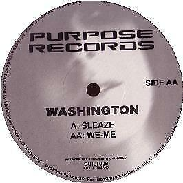 Washington - Sleaze - Purpose - 2003 #101266