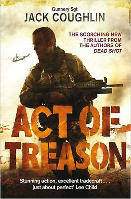 Act of Treason, New, Coughlin, Gunnery Sergaent Jack Book