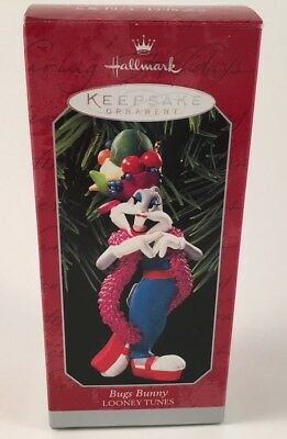 Hallmark Keepsake Ornament Bugs Bunny Looney Tunes 1997 Latin dance