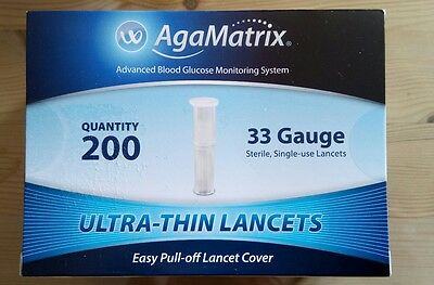 Agamatrix Ultra Thin Lancets