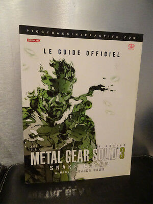 Guide Metal Gear Solid 3 Officiel