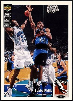 Bobby Phills #218 Collector's Choice 1994-5 Upper Deck Basketball Card (C502)