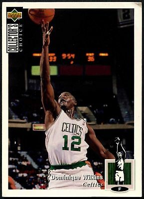 Dominique Wilkins #247 Collectors Choice 1994-5 Upper Deck Basketball Card(C502)