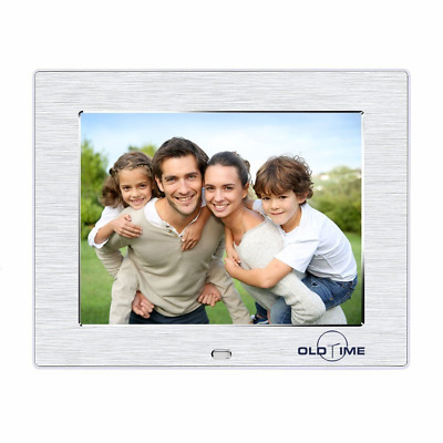 """OLDTIME® 8"""" Digital Photo Picture Frame 4GB High Resolution IPS 1024*768 Adverti"""
