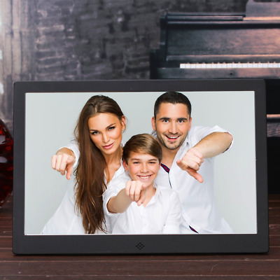 """OLDTIME® 12"""" Digital Photo Picture Frame IPS 1280*800 & HD Video (1080p) with 8G"""