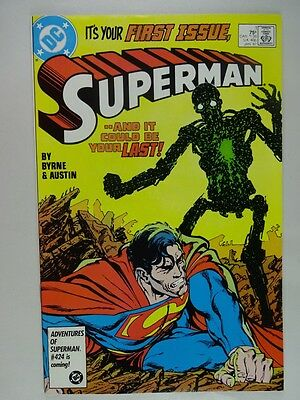 Superman Lot of 3    High Grade  NM   #1,2,3   John Byrne