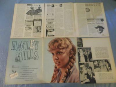 Hayley Mills  vintage  clipping  #28
