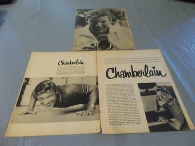 Richard Chamberlain vintage clipping  #28