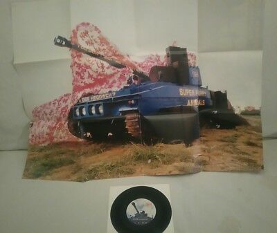 """Super Furry Animals – If You Don't Want Me to Destroy You 7""""  Poster sleeve"""