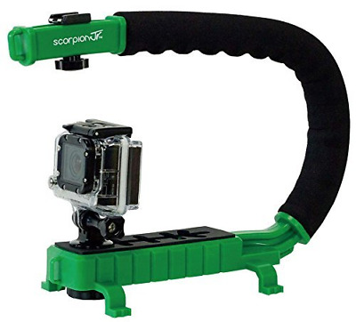 Cam Caddie Scorpion Jr. Video Camera Stabilizing Handle with Included Smartphone