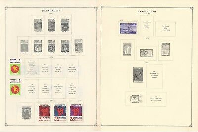 Bangladesh Collection 1971-1994 on 20 Scott International Pages