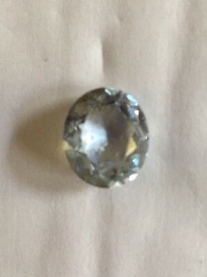 Antique Oval Cut Natural Aquamarine 6ct 14x12x7 For Ring or Pendant