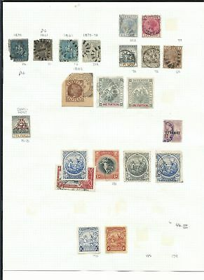 Barbados & Bangladesh  Collection on 6 Pages, All Different Lot