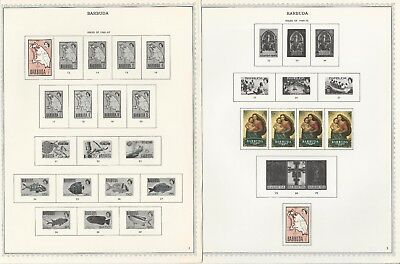 Barbuda Collection 1968 to 1984 on Minkus Specialty Pages, 83 Pages