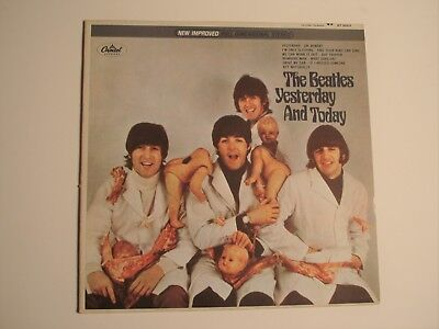 Beatles Unauthorized Textured Stereo Butcher Cover With Perry Cox Letter