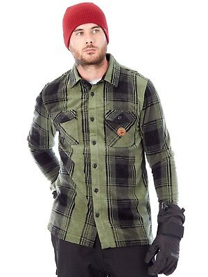 Thirty Two Forrest Reststop Polar Fleece Long Sleeved Snowboarding Shirt