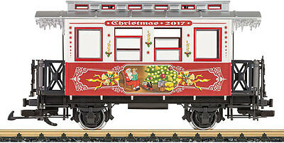 Lgb G Scale 2017 Christmas Passenger Car With Sound | Bn | 36017