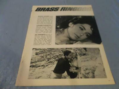 Suzanne Pleshette vintage clipping  #38