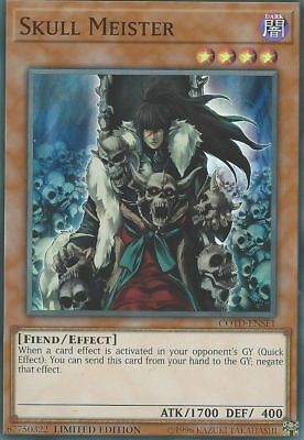 Skull Meister - COTD-ENSE1 - Super Rare - Limited Edition NM