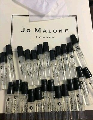 Choose any 6 Jo Malone Eau De Cologne Perfume sample vials