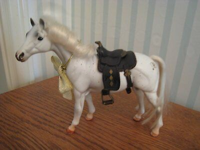 Vintage 1995 Marchon GC Grand Champion Model Horse With Saddle