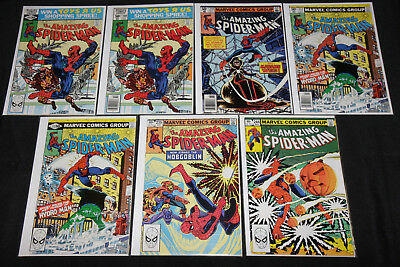 Marvel Bronze-Copper AMAZING SPIDER-MAN 29pc Mid-High Grade Comic Lot FN+ to NM