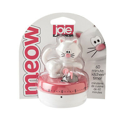 Joie Meow Cat 60-Minute Mechanical Kitchen Timer