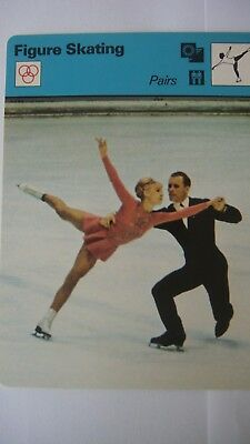 Rare Sportscaster Rencontre Collectable Card Figure Skating Pairs 20 01