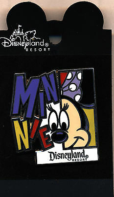 DLR Colorful Character Minnie Mouse Pin MOC!