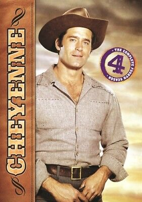 CHEYENNE SEASON 4 New Sealed 4 DVD Set Fourth Warner Archive Collection