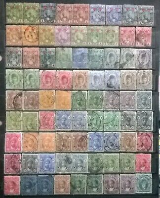 ZANZIBAR - British Colony  Large Early Collection/Lot VF -
